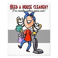 MAKE YOUR LIFE EAISIER, LET ME TAKE CARE OF THE CLEANING!