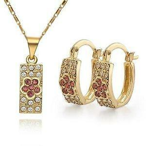 14k Gold Jewelry Set 24d2f9cf75
