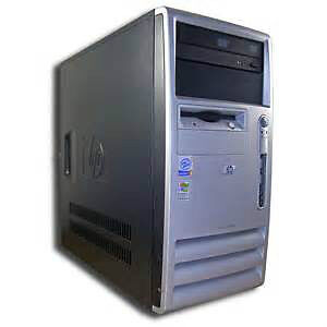 Choose from 4 CPU's for a Desktop Computer Pentium 4
