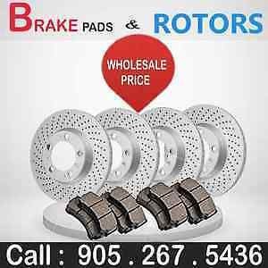 Brake Pads and Rotors Only The Best!