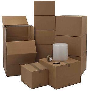 flat pack boxes ebay. Black Bedroom Furniture Sets. Home Design Ideas