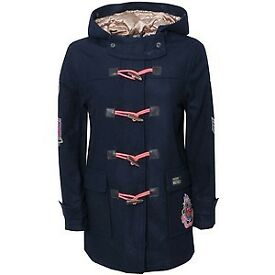 Paul's Boutique Duffle Coat RRP £140 size S