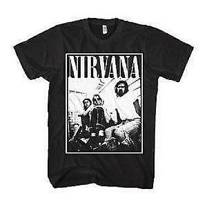 nirvana shirt ebay. Black Bedroom Furniture Sets. Home Design Ideas