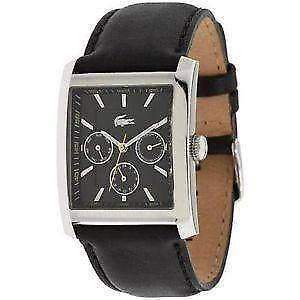 lacoste watch lacoste men s leather watches
