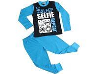 Eat Sleep Selfie Repeat PJs