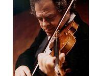 3 Tickets - Itzhak Perlman @ Royal Festival Hall (May 6th)