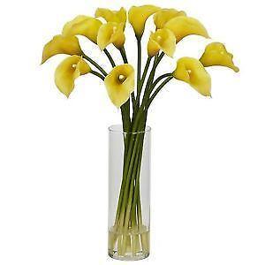 Artificial Flowers In Vase