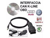 diagnostic, key coding ,radio unlocking and reset the mileage on audi, vw ,seat ,skoda etc