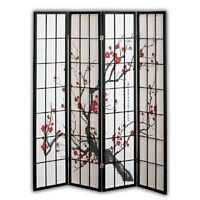 == Paravent en Bois et Papier | Paper Wooden Room Screen Divider