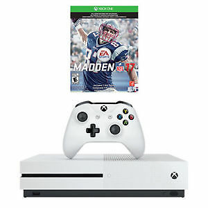 Xbox One S Console 1TB Madden 17 Bundle – LIMITED TIME OFFER - S