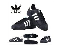 New adidas superstar trainers 👌All sizes, different colours only £23!!!delivery available 😊