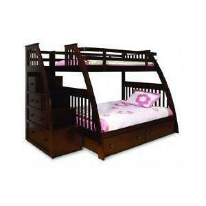 Twin Over Full Bunk Bed Ebay