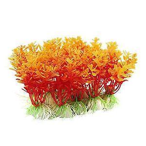 Plastic plants decorations ebay for Plastic pond plants