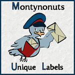 montynonuts unique labels