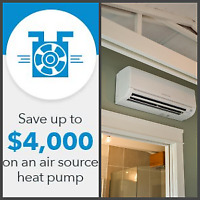 Rebates Available for Heating and Cooling Installations
