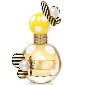 marc jacobs honey perfume 100ml bottle used