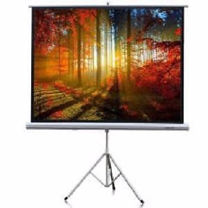 Weekly Promo! eGalaxy   Portable Projector Screen with Tripod   , Tripod Projector Screen