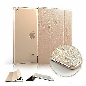 Luxury Slim Smart Wake Leather Case Cover for Apple iPad5 Air London Ontario image 1