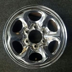 "4 - 15"" 6 bolt Nissan Chrome rims"