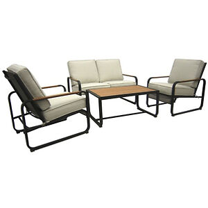 two sets - outdoor loveseat and coffee table