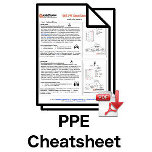 -- Free Cheat Sheet for Your PEO PPE Law & Ethics Exam (free)