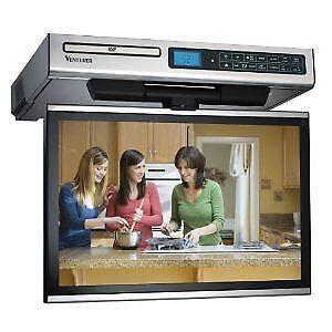 Under Kitchen Cabinet TV