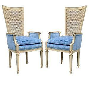 Vintage Cane Back Chairs