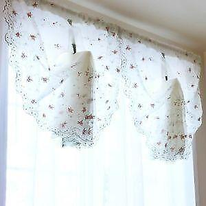 victorain lace curtains