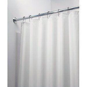 fabric shower stall curtain