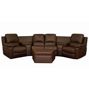 Leather Sectional Recliner  sc 1 st  eBay & Leather Recliner: Furniture | eBay islam-shia.org
