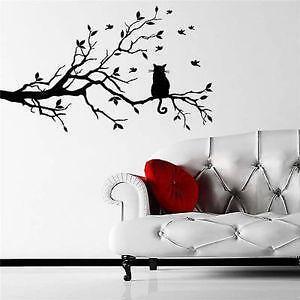 Tree Branch Wall Decals  sc 1 st  eBay & Branch Wall Decal | eBay