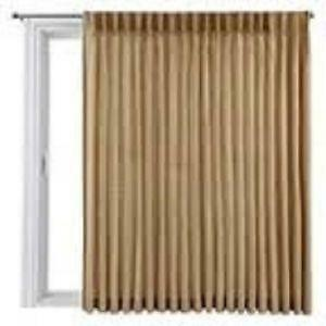 Pinch Pleated Patio Drapes