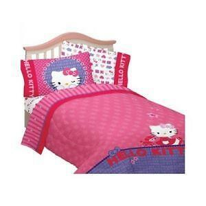 Hello Kitty Bed Sheets Full