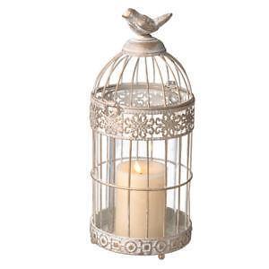 White Decorative Bird Cage