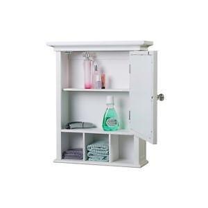 Superbe Vintage Wood Medicine Cabinets
