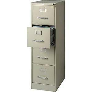 4-Drawer Metal File Cabinet