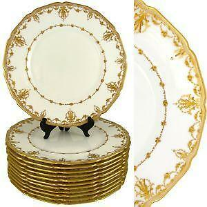 Antique Dinner Plates  sc 1 st  eBay & Antique Plates | eBay
