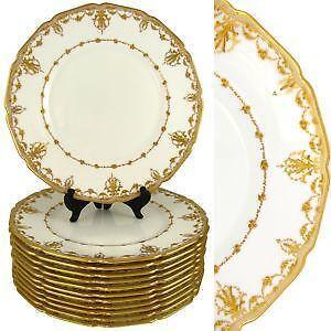 Antique Dinner Plates