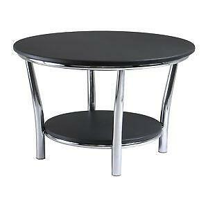 Black Round Coffee Tables