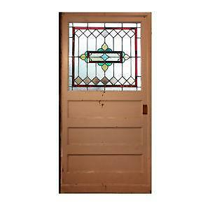 Attrayant Stained Glass Entry Doors