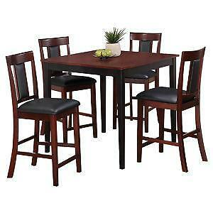 5 piece counter height dining sets