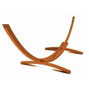 Medium image of wood hammock stands