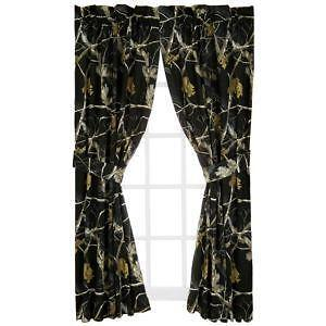 Realtree Camo Curtains