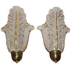 French Art Deco Sconces
