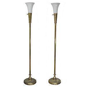 Antique Brass Floor Lamps