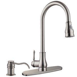 Kitchen Soap Dispenser Brushed Nickel