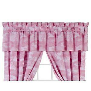 Pink Camo Curtains