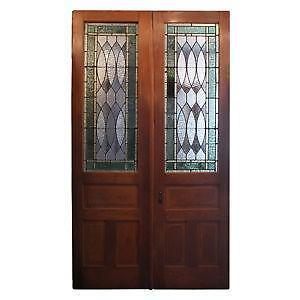 Gentil Stained Glass Door Panels