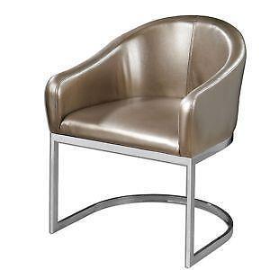 Beau Art Deco Chrome Chair
