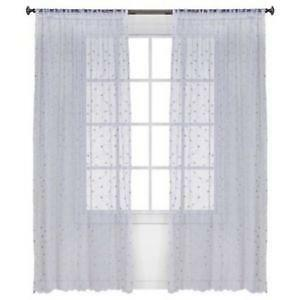 Rose Sheer Curtains